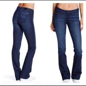 NWT Big Star Sarah Mid Rise Slim Boot Jeans 27L
